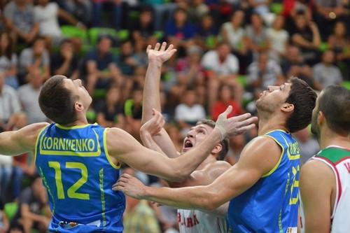 Баскетболисты сборной Украины одержали существенную победу над болгарами