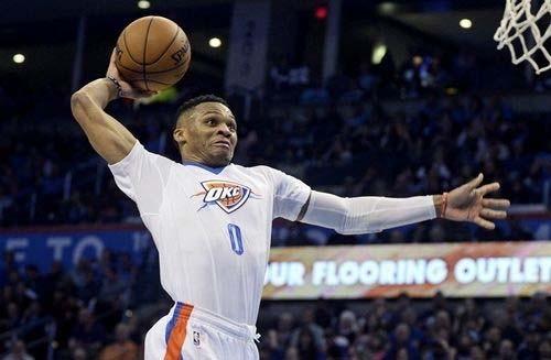 Уэстбрук стал самым ценным игроком сезона государственной баскетбольной ассоциации